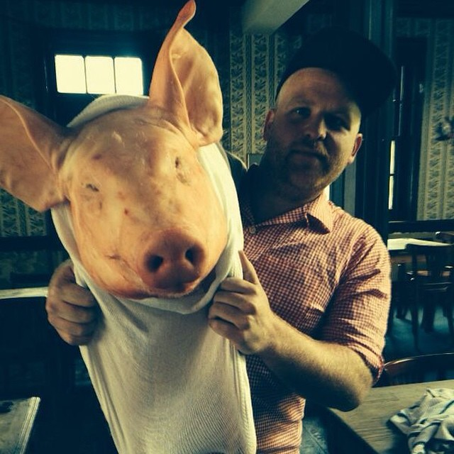 True love @shaunymw #hogroast #pig #meat #pork #bbq #sunday #hog #rarebreed #food #foodie #foodporn