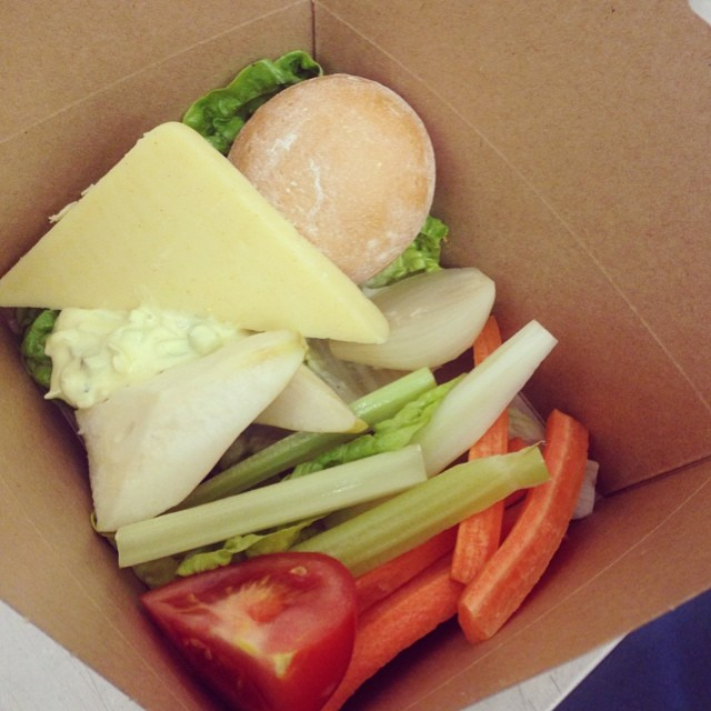 Snack box ploughman's #snack #food #foodie #cheese