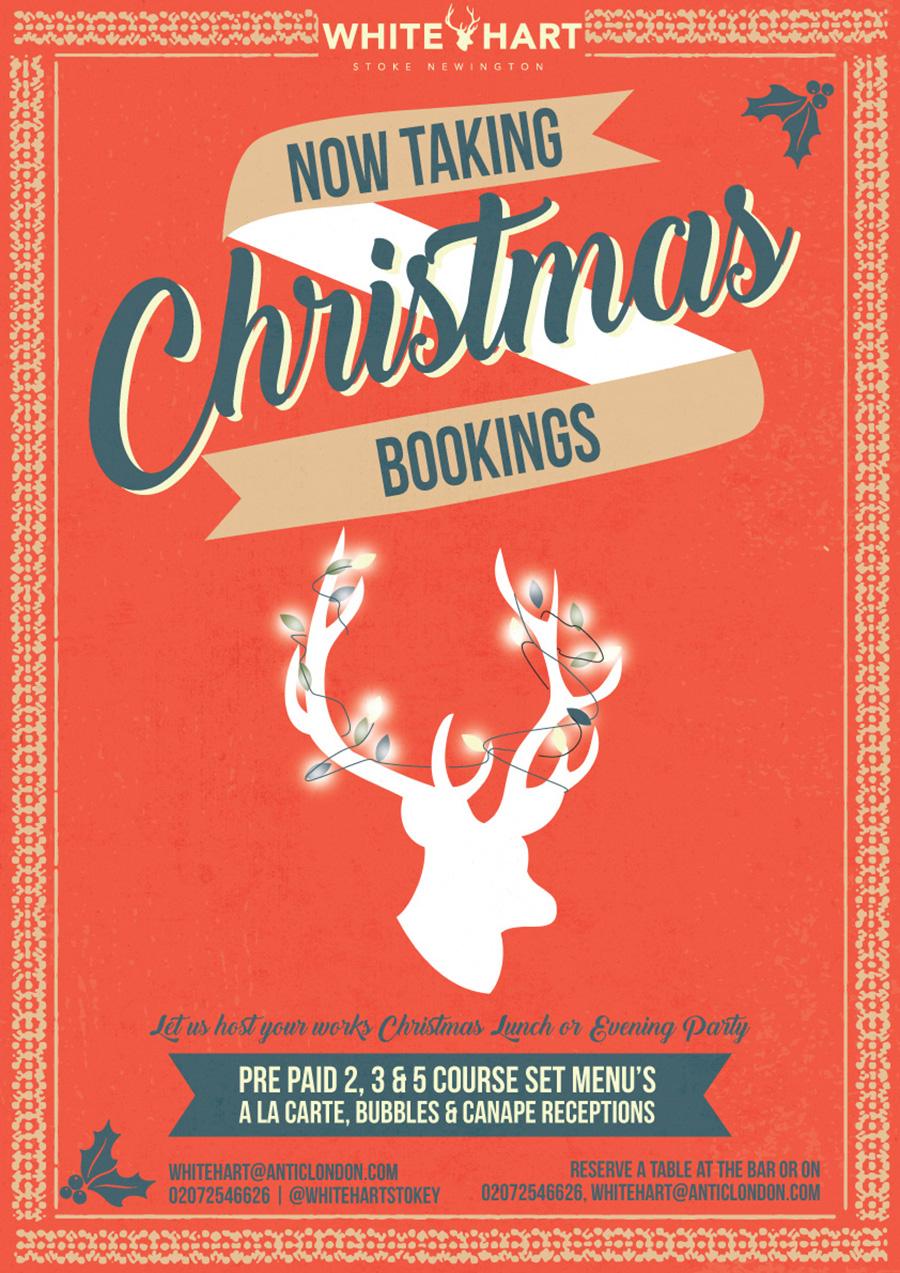 Christmas Bookings