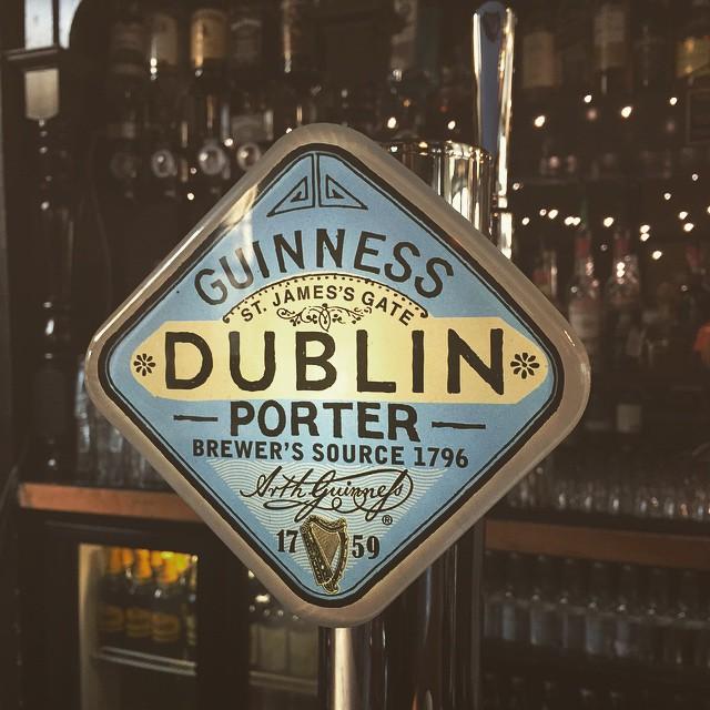 Guinness, Dublin Porter now on draught. #Guinness #porter #drink #pint #pub #Irish  #stokey #n16 #whitehart