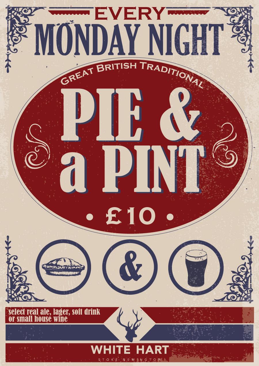 Pie & a pint